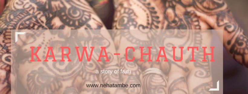 Karva-chauth a story of faith