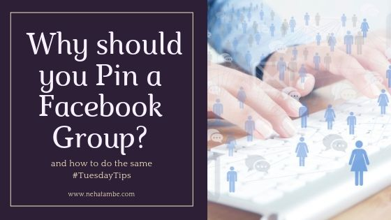 How and Why should you Pin a Facebook group