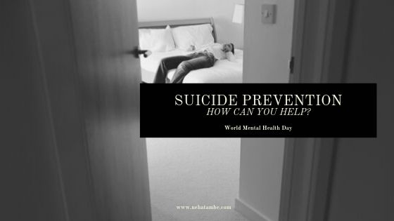 suicide prevention how can you help