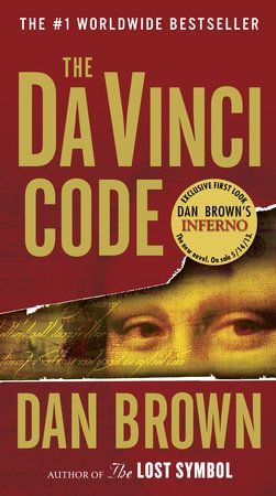 best contemporary novel - Da Vinci Code