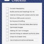 9 On Page SEO essentials when writing a blog post [+ free checklist]